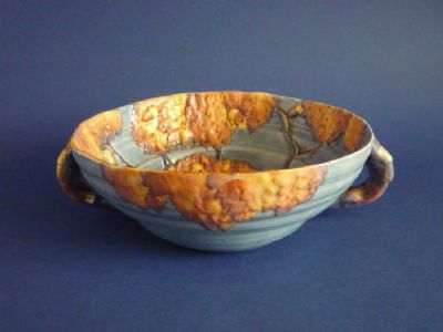 Superb Carlton Ware 'Night Oak' Two Handled Bowl c1933 (Sold)